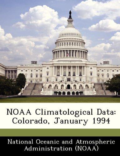 NOAA Climatological Data: Colorado, January 1994