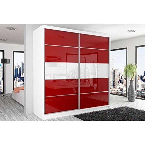 justhome-beauty-4-armoire-218-200-60-couleur-blanc-mat-rouge-blanc-laque-haute-brillance