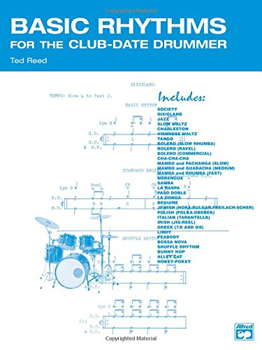 Basic Rhythms for the Club-Date Drummer (Ted Reed Publications)