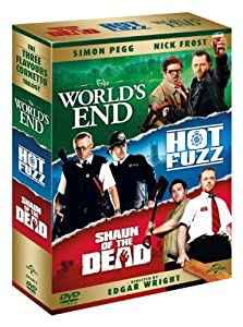The Three Flavours Cornetto Trilogy [DVD]