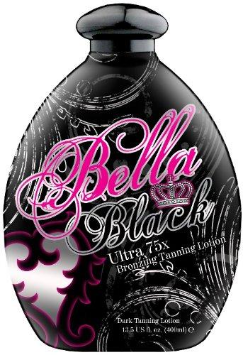 2011 Bella Black 75x Bronzer Dark Indoor Tanning Bed Lotion