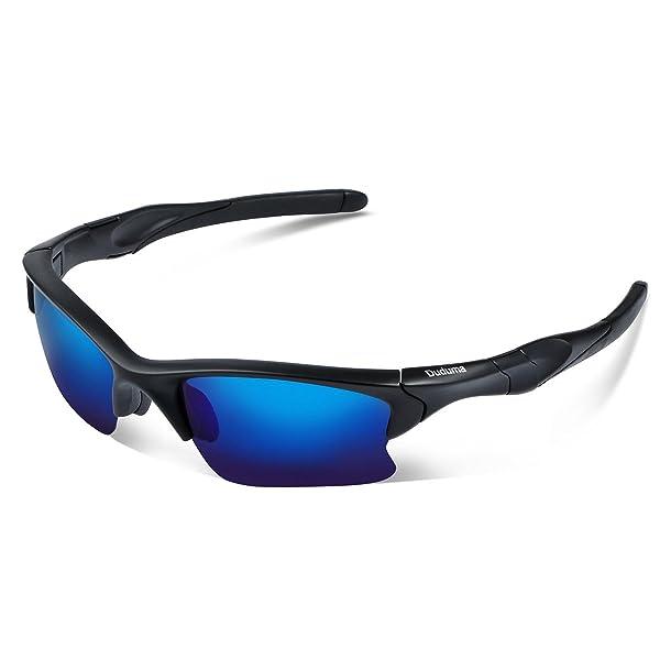 07a1705a1f4 Duduma Polarized Sports Sunglasses for Men Women Baseball Fishing Golf  Running Cycling Driving Softball Hiking Floating Unbreakable Shades ...