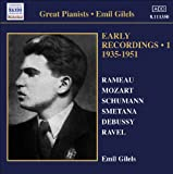 Gilels, Emil: Early Recordings, Vol. 1 (1935-1951)