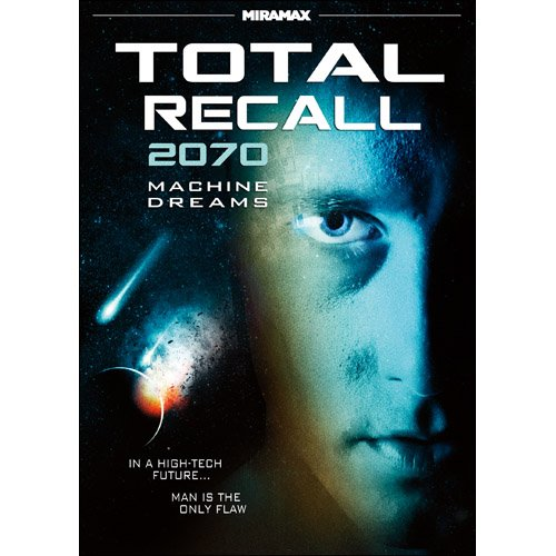 Cover art for  Total Recall 2070: Machine Dreams