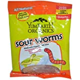 Yummy Earth Sour Worms Organic