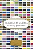 Measure for Measure: An Anthology of Poetic Meters (Everyman's Library Pocket Poets)