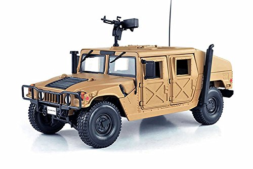 Hummer Humvee, Sand - Maisto 34974 - 1/27 Scale Diecast Model Military Vehicle (Brand New, but NO BOX) (Hummer Scale compare prices)