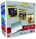 Console PS3 320 Go argent + Gran Turi...