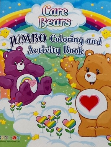 Care Bears Jumbo Coloring & Activity Book ~ 64 Pages Orange Bear with Heart Tummy
