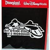 Disney Car Window Decals Walt Disney World Exclusive - Monorail