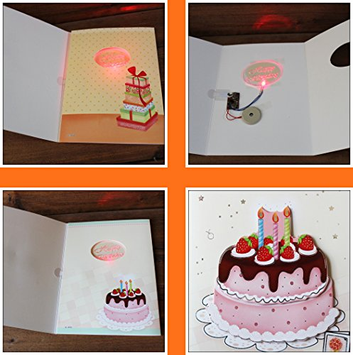 Musical Birthday Card Interactive Sound Birthday Cards With