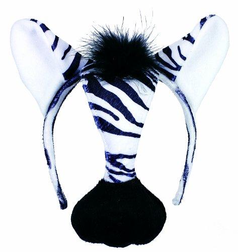 Small World Toys Furree Faces - Zebra front-971239