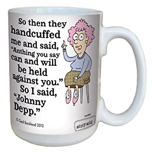 Amazon.com: Tree-Free Greetings lm43835 Hilarious Aunty Acid Johnny