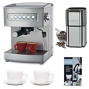 Coffee Maker Descaler : Amazon.com: Cuisinart EM-200 Cuisinart Programmable 15-Bar Espresso Maker with Two 3-oz Ceramic ...