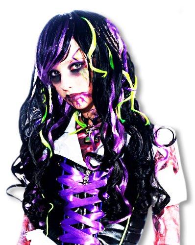 Zombie Rocker parrucca Bambino