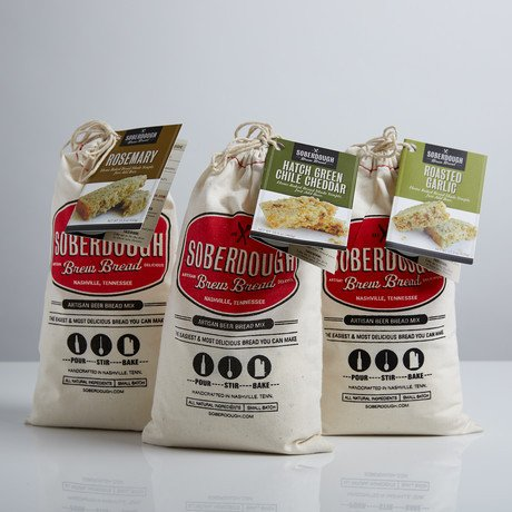 Soberdough Savory Trio - Beer Bread Mixes (Soberdough Bread compare prices)