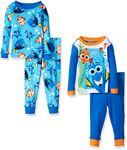Disney Boys Finding Dory Toddler 4-Piece Pajama Set