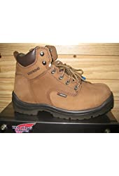 "RED WING MEN'S 6"" WATERPROOF WORK BOOT 435 SIZE 11 D"