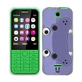 Head Case Designs Hippopotamus Animal Patches Soft Gel Back Case Cover for Nokia 225