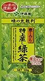 伊藤園 味の太鼓判 特上蒸し緑茶500 100g