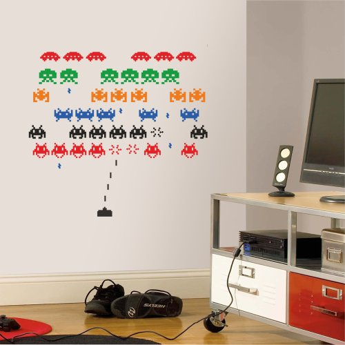 space-invaders-wall-decal-art-sticker-lounge-living-room-bedroom-hall-medium-by-wondrous-wall-art