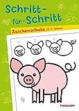 Schritt-für-Schritt. Zeichenschule ab 4 Jahren (Malbücher und -blöcke)