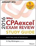 img - for Wiley CPAexcel Exam Review 2016 Study Guide January: Auditing and Attestation (Wiley Cpa Exam Review) book / textbook / text book