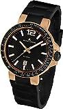 Jacques Lemans Men's Quartz Watch Milano 1-1695H with Rubber Strap