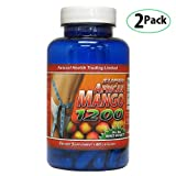 Super African Mango 1200 Dietary Supplement 60 Capsules 2-Pack