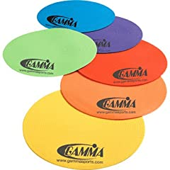 Buy Gamma Rainbow Training Spots (6 Pack) by Gamma