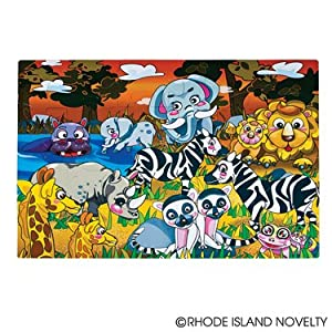 Ddi 24 Piece Wild Animal Floor Puzzle Case Pack 4 at Sears.com