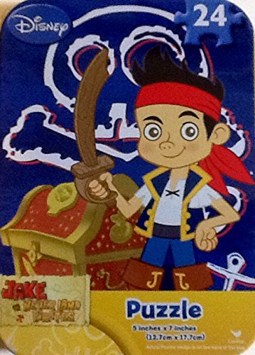 Collectable Miniature Puzzle in a Tin ~ Jake & The Neverland Pirates~ 24 Piece