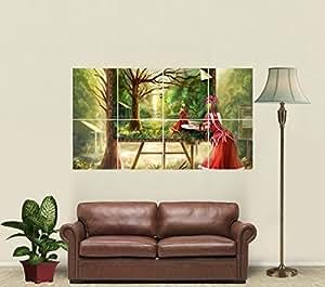 Amazon.com: Hina Kagiyama Giant Art Print Poster JW88507: Posters