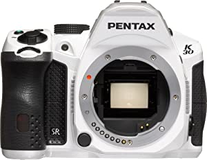 Pentax K-30 Weather-Sealed 16 MP CMOS Digital SLR (White, Body Only)