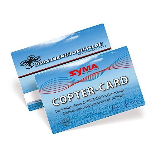 Syma-DROHNENSTORE-Copter-Card-Flugkarte-fr-Drohnen-und-Copter-Geschenk-GADGET-Flugschein
