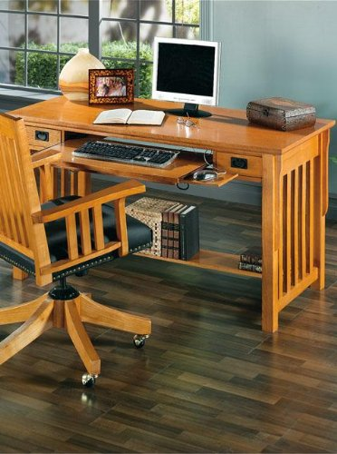 Buy Low Price Comfortable Mission Style Corner Computer