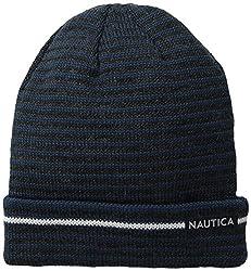 Nautica Men's Jersey Knit Beanie