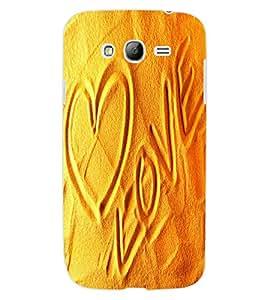 ColourCraft Love image Design Back Case Cover for SAMSUNG GALAXY GRAND Z I9082Z
