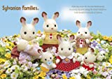 108 Piece Sylvanian Families Chocolate Rabbit family 01-054 (Japan import / The package and the manual are written in Japanese)