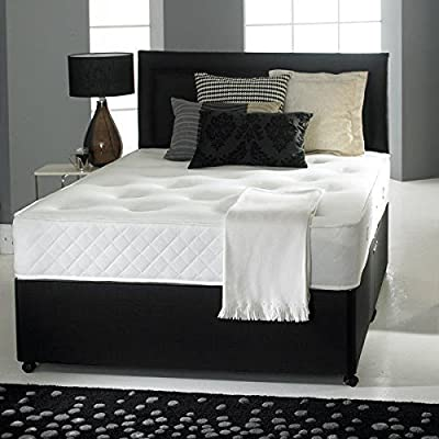 Divan Bed with Ortho Mattress, Headboard and 2 drawers