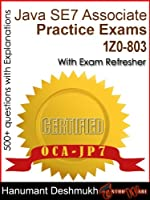 OCAJP Oracle Certified Associate Java SE 7 Programmer Practice Exams Front Cover