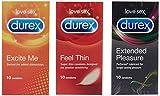 Durex Combo (Excite Me + Feel Thin + Extended Pleasure)