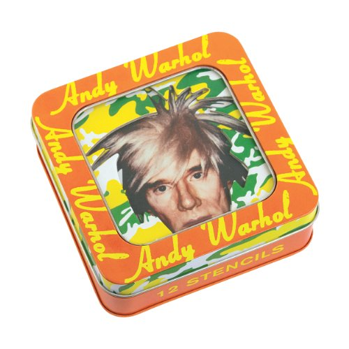 Mudpuppy Andy Warhol Stencil Set