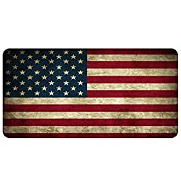VanFn Mouse Pads, Extended Size Gaming Mouse Pad, Customized Rectangle Mousepad, Special Treated Textured Weave, Non-Slip Rubber Base Mouse Mat Perfect for PC and Laptop (600*300*3mm, American Flag)