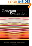 Program Evaluation: An Introduction, 5th Edition