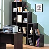 Coaster Contemporary Home Office Cube Bookcase Display Shelves