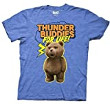Ted Thunder Buddies For Life Mens Tee