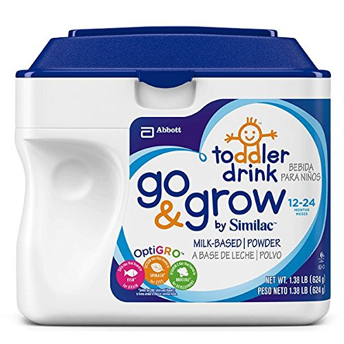 Similac Go and Grow Stage 3, Milk Based Toddler Drink with Iron, Powder, 22 Ounces - 1