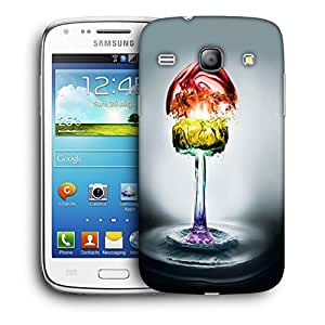 Snoogg Colorful Water Phases Designer Protective Back Case Cover For Samsung Galaxy Core
