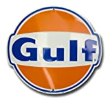 Gulf Oil Nostalgia Sign Die Cut